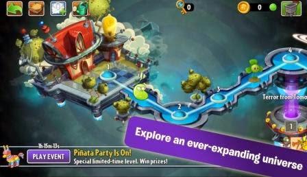 Plants vs Zombies 2 Apk Terbaru