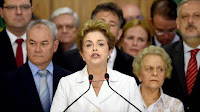 Rousseff llama a brasileños a alzarse contra el proceso golpista
