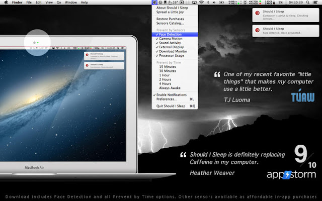 Should I Sleep - Top Caffeine Alternative for Mac