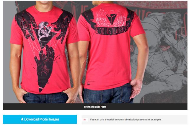 Kumpulan 40 Template T-Shirt Mockups PSD Terbaik Untuk Usaha Baju / Kaos / Jaket