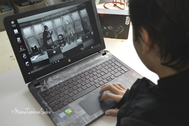 Ordenador Portátil HP StarWars Edición Especial