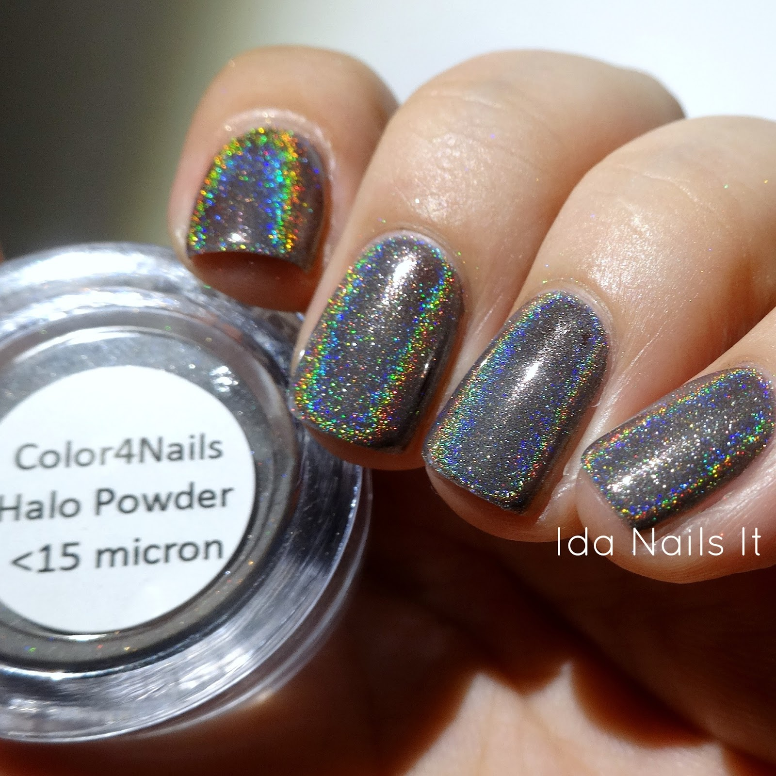 Ida Nails It: Color4Nails Halo Chrome Powder Pigment: Swatches and ...