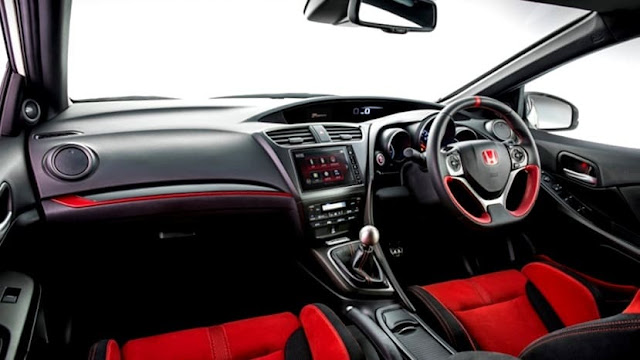 Interior Honda Civic Type R 2017 Indonesia