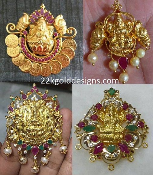 Light Weight Lakshmi Pendants