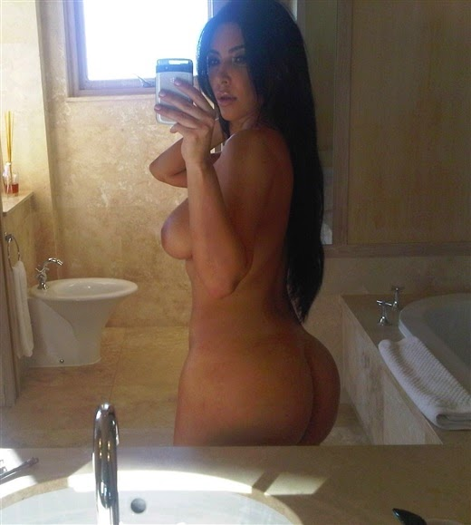 The Kardashians Brazil 18 Kim Posa Nua Para Revista -6361