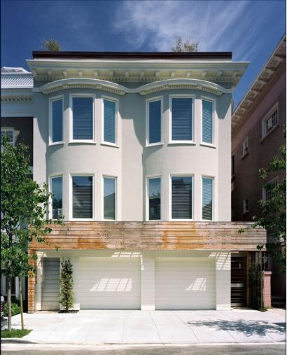 Modern homes designs front views san francisco usa for Modern house designs usa