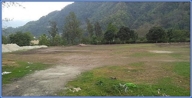 cricket stadium soon at Rangpo Mining ground in East Sikkim