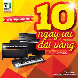 Bán khuyến mãi đàn piano điện và đàn organ với giá rẻ nhất