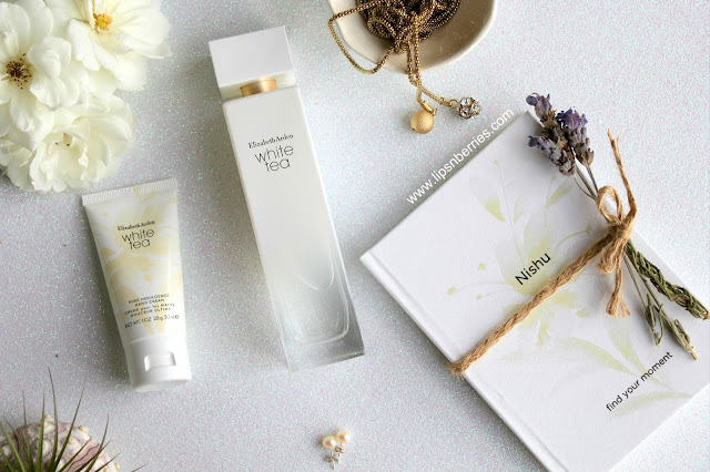 elizabeth arden white tea perfume review