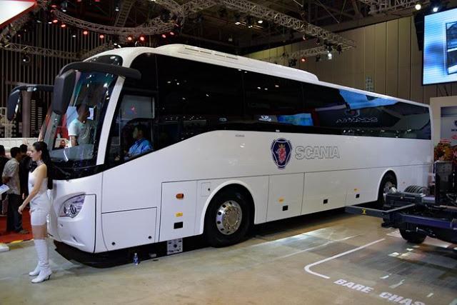 Scania A50 Đô Thành được thiết kế có bề ngoài  bắt mắt trẻ trung