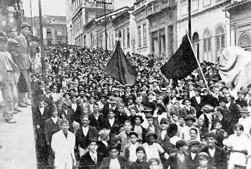 Movimento Operário no Brasil e no Mundo