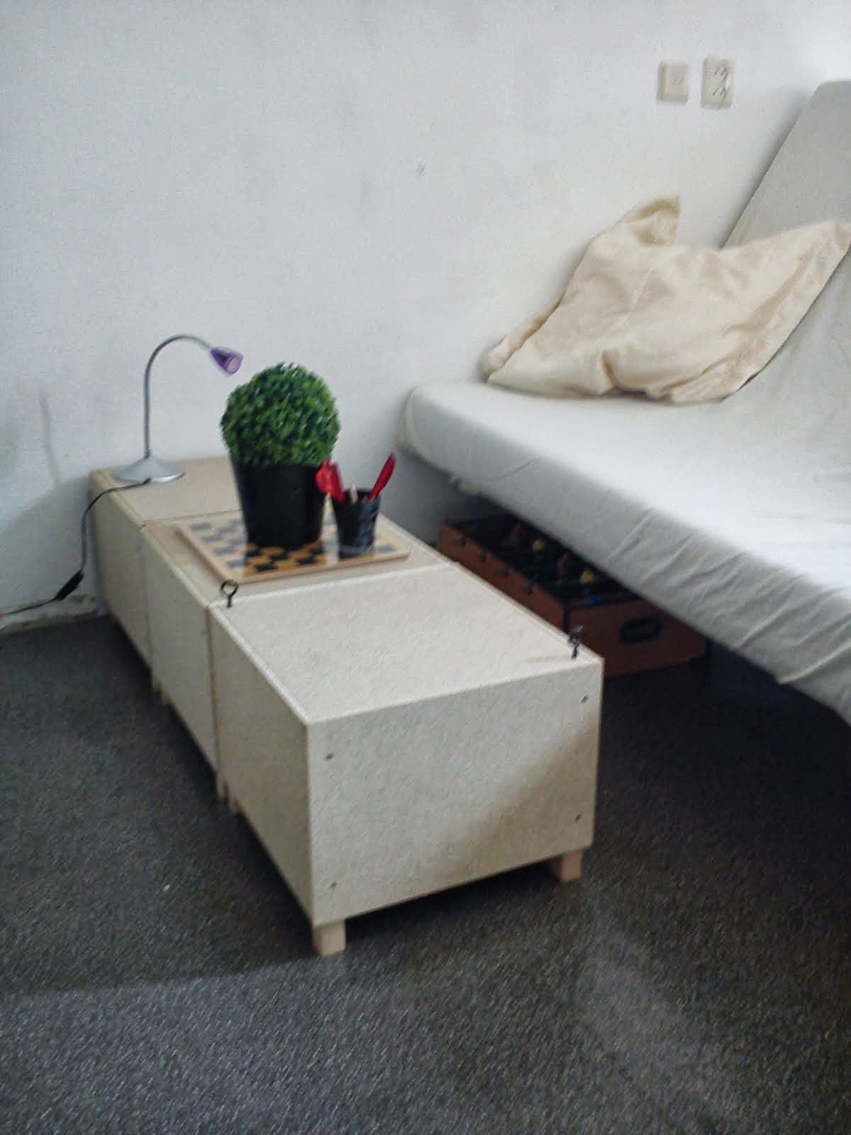 Solsta Footstool Becomes Coffee Table Ikea Hackers