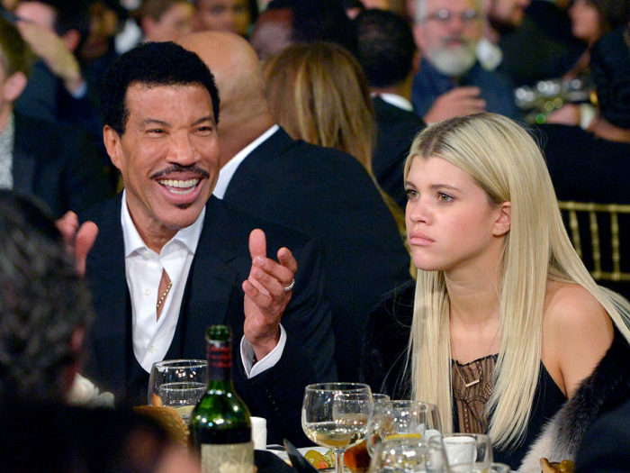 Lionel Richie finally breaks his silence on Scott Disick's relationship with his daughter Sofia