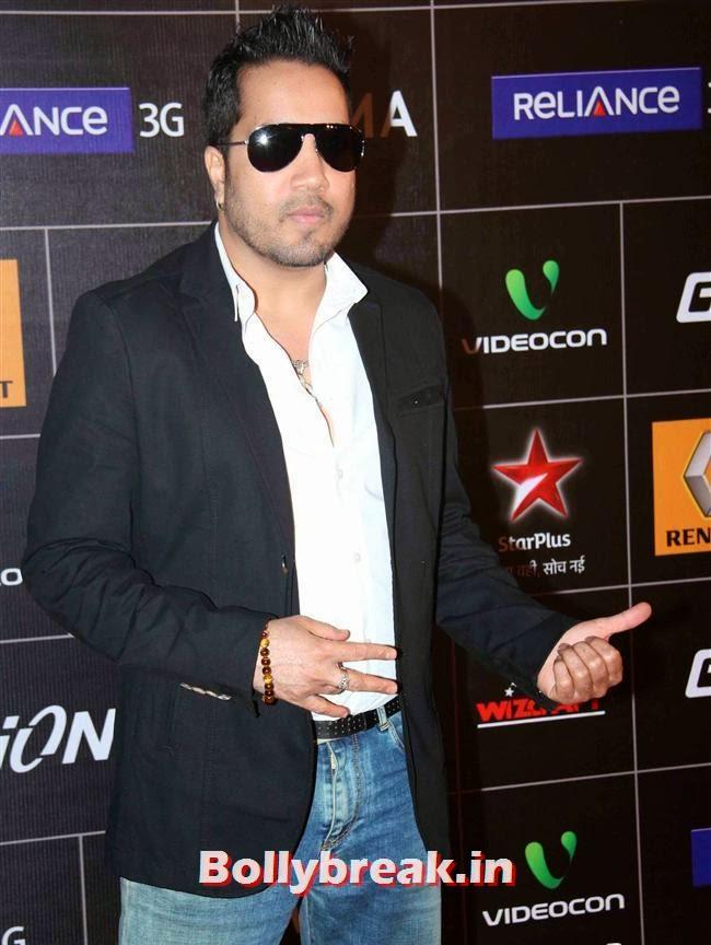 Mika Singh, Global Indian Music Awards 2014 Pics