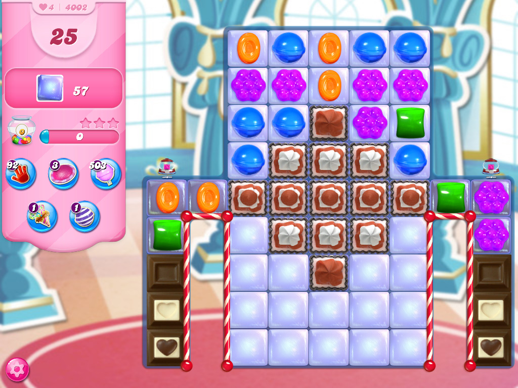 Candy Crush Saga level 4002