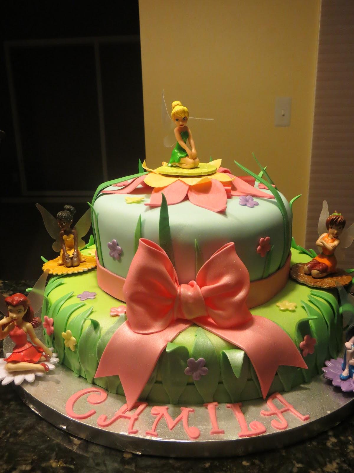 Cakes And More Disney Fairies Cake