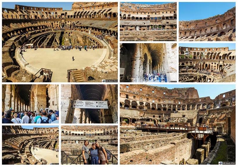 Tour no Coliseu em Roma - Diário de Bordo: 3 dias em Roma