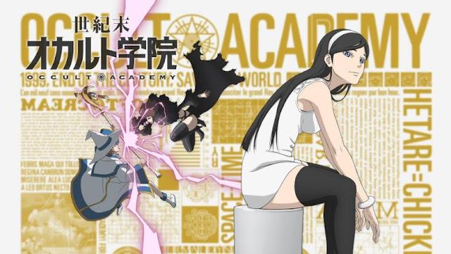 Seikimatsu Occult Gakuin - Anime Time Travel Terbaik (Melakukan Perjalanan Waktu)