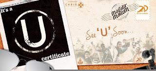 U certificate for magalir mattum