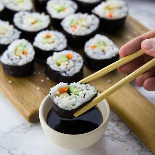 sushi receta