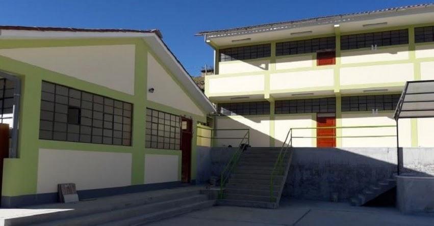 PRONIED: Más de 160 niños de primaria beneficiados con nuevo colegio de nivel primaria en Acobamba - www.pronied.gob.pe