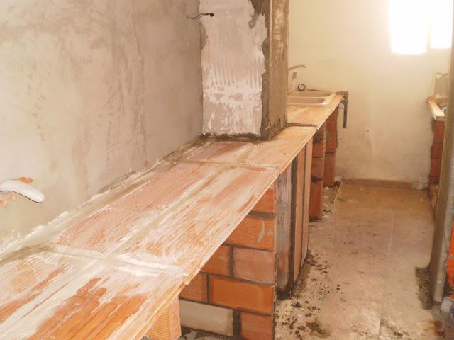 Construcciones y reformas carmelo hernandez fotos de for Cocinas de obra