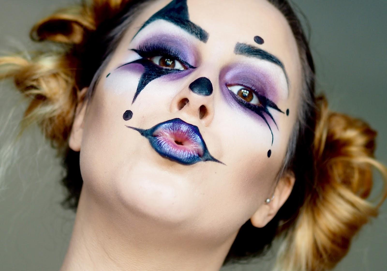 Emma Mattress Review >> Not Your Average: Halloween Look: Glam Clown