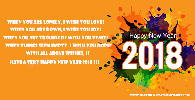 2018 New Year messages