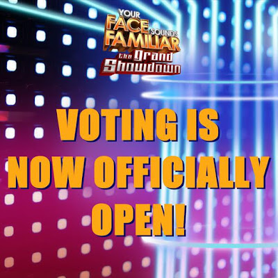 Voting now open Your Face Sounds Familiar