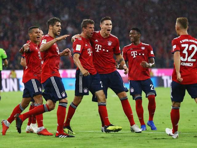 Bayern Munich 3 - 1 Hoffenheim Bundesliga 24/8/2018