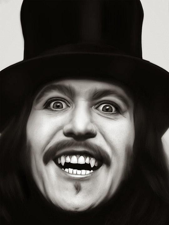 Arte hiperrealista y retoque digital  Dracula