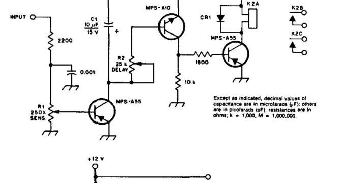 diagram ingram: Build a Carrier Operated Relay Circuit Diagram