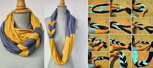 How To Make A Beautiful Scarf