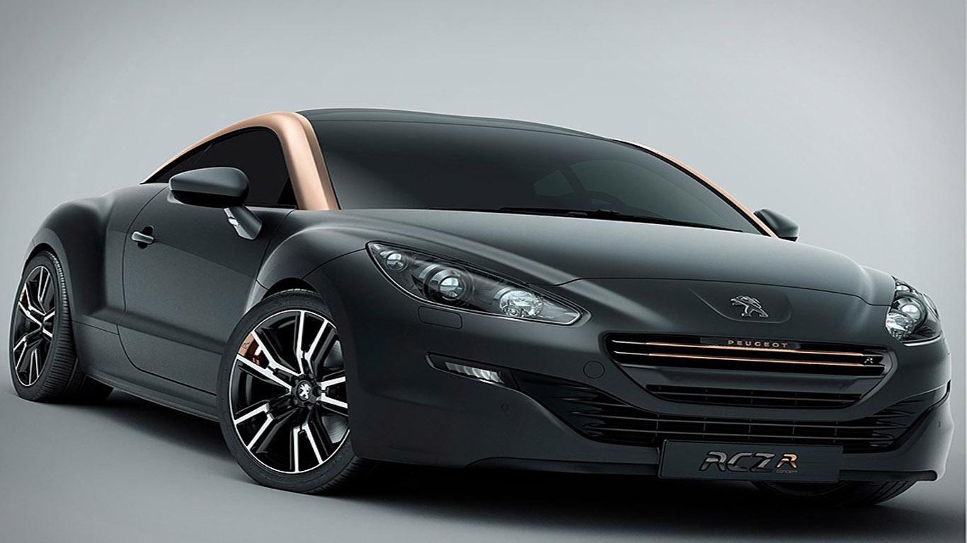 Peugeot Rcz R Concept Paris Motor Show 2012 Dream