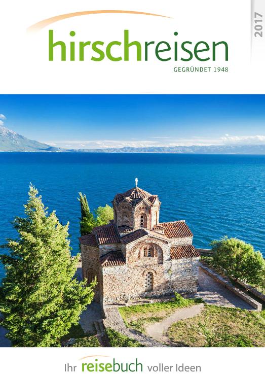 Ohrid auf dem Cover: Hirschreisen neues Jahrbuch