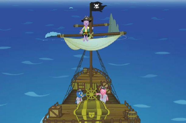 The Backyardigans Pirate Adventure game