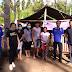 Ketua GAMKI MINSEL Blusukan ketenda Perkemahan Pemuda Bukit Zaitun Tewasen