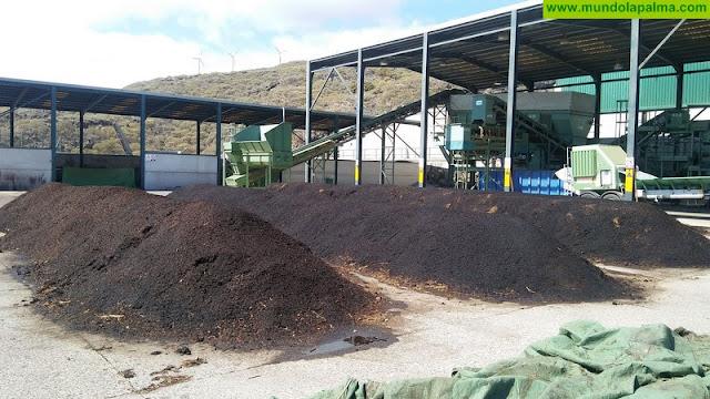 La separación de biorresiduos en La Palma alcanzó las 788,7 toneladas en 2017
