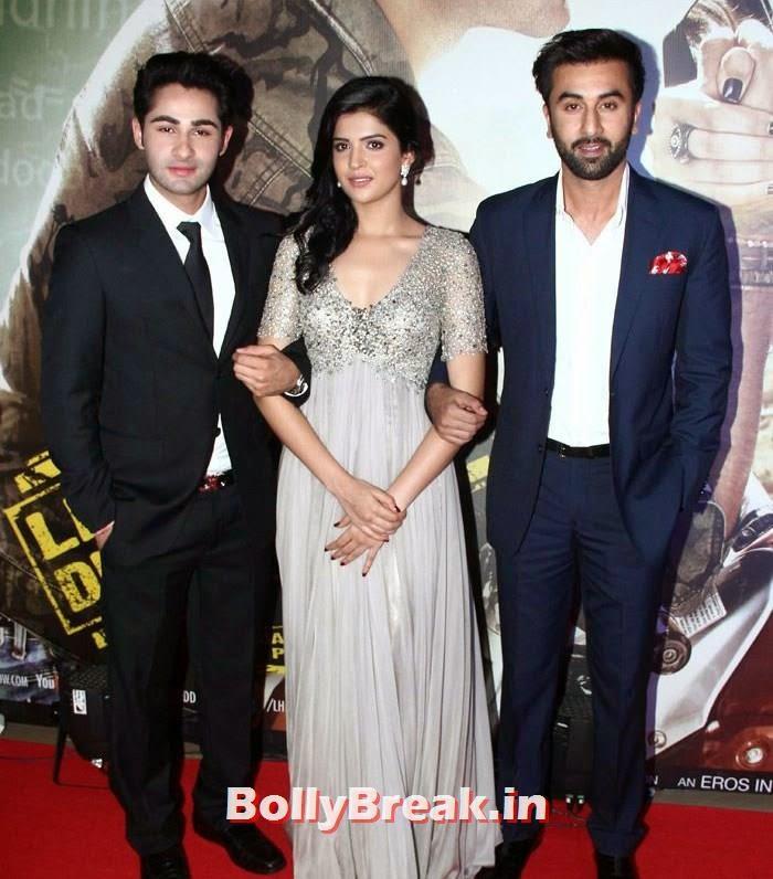 Armaan Jain, Deeksha Seth, Ranbir Kapoor