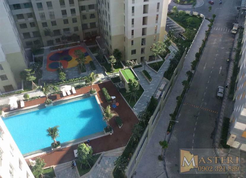 cho thuê căn hộ Masteri Thảo Điền - View hồ bơi