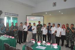 Korem Gelar Rapat Koordinasi Perkembangan Keadaan Pasca Gempa di NTB