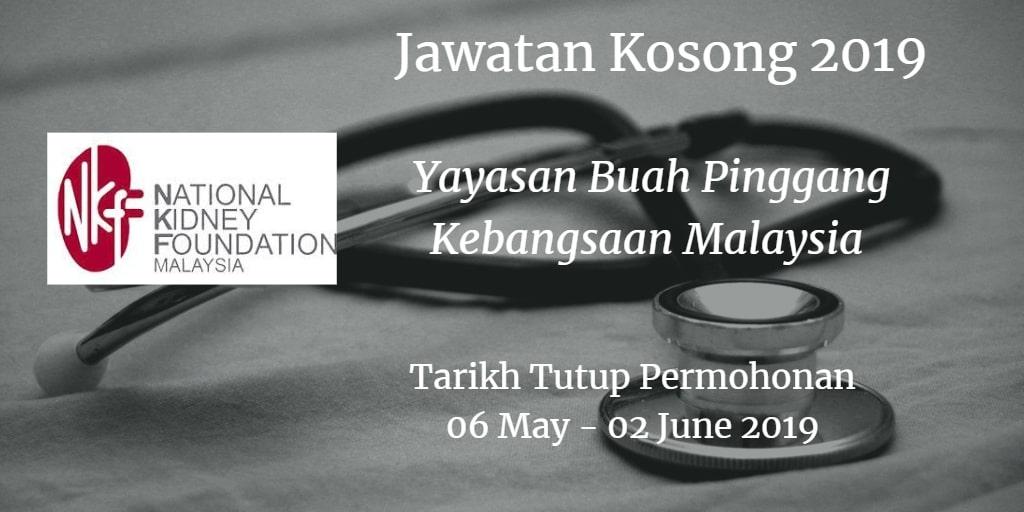 Jawatan Kosong NKF 06 May  - 02 June 2019