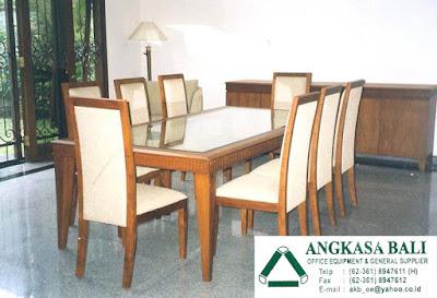 jual furniture meja makan minimalis di bali