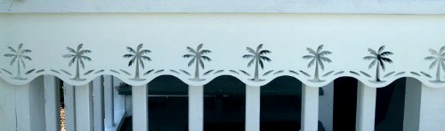Palm Tree House Trim