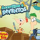 Phineas y Ferb Acertijos e Inventos juego