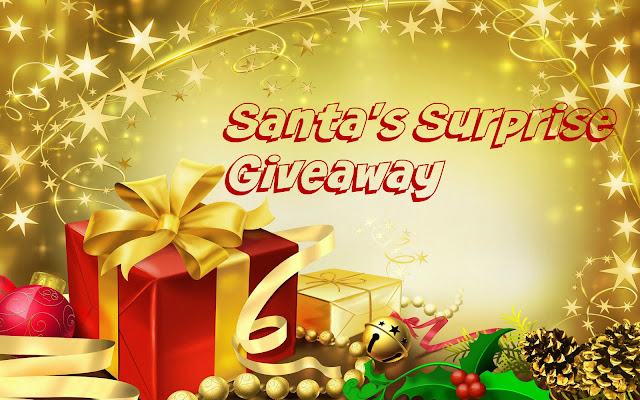 Santa's surprise giveaway