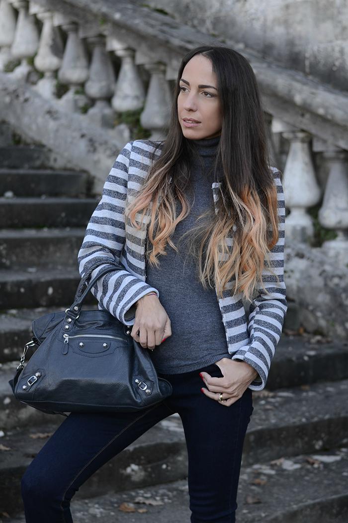come indossare grigio