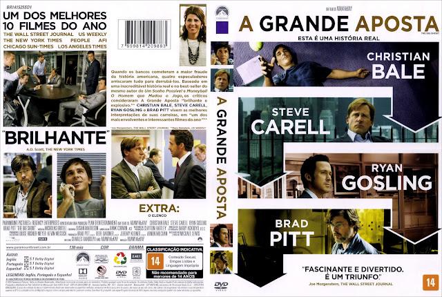 Capa DVD A Grande Aposta