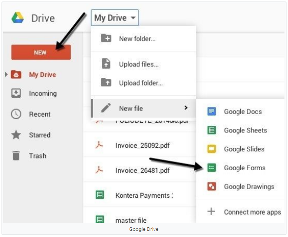 Cara Membuat Google Forms