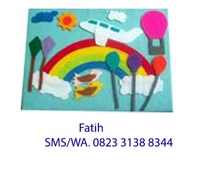 Mainan Flanel Playboard di Langit